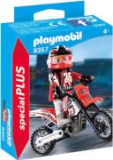 PLAYMOBIL 9357 Motocross-Fahrer
