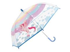 Kinder-Schirm transparent Einhorn (4)